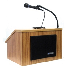Folding Tabletop Lectern with Case, 43312