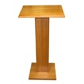 Wood Veneer Lectern, 85101