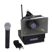 50W Wireless Handheld Hailer PA System, 43352