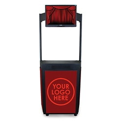Mobile Event Booth with Monitor Mount, 43451