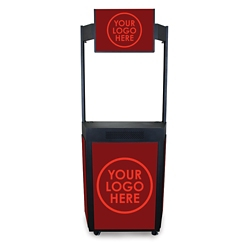 Mobile Event Booth with Graphic Marquee, 43452