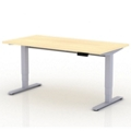 "Sit-to-Stand Height Adjustable Desk - 72""W x 30""D, 14137"