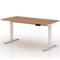 "Sit-to-Stand Height Adjustable Desk - 60""W x 30""D, 14136"