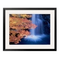"33""W x 27""H Waterfall Autumn Leaves Print, 85717"