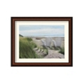 Perfect Spot on the Beach by Julie Peterson - Framed Art Print, 87619