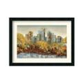 Central Park by Carmen Dolce - Framed Art Print, 87641