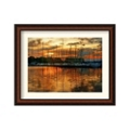 Marina Sunrise III by Danny Head - Framed Art Print, 87656