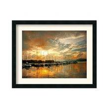 Marina Sunrise II by Danny Head - Framed Art Print, 87657