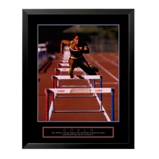 Goals Motivational Print - Runner, 91860