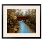 "Covered Bridge Print - 37"" x 31"", 91866"