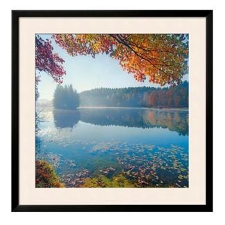 """Bass Lake Print - 33"""" x 33"""", 91875"""