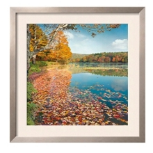 "Autumn Lake Print - 33"" x 33"", 91876"