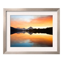 """Sunset Over River Print - 33"""" x 27"""", 91888"""