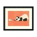 Pug and Panda by Fleck - Framed Art Print, 82704
