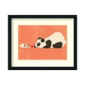 Pug and Panda by Fleck - Framed Art Print, 82704