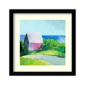 Pink House by Wakefield - Framed Art Print, 82707