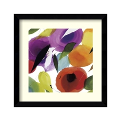 Melody of Color II by Abellan - Framed Art Print, 82710