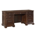 "Double Pedestal Credenza with Power - 66""W x 24""D, 10114"