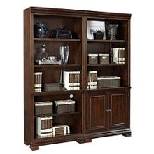 "Ten Shelf Bookcase Wall- 75.5""H, 14317"