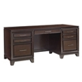 "Double Pedestal Credenza Desk - 72""W, 14811"