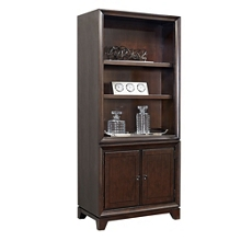 """Four Shelf Bookcase with Lower Doors - 78""""H, 32207"""