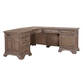 "Reversible Bowfront L-Desk - 66""W, 14417"