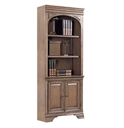 """Bookcase with Doors - 78""""H, 32212"""