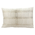 "kathy ireland by Nourison Beaded Rectangular Accent Pillow - 24""W x 16""H, 82163"