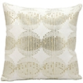 "kathy ireland by Nourison Metallic Square Pillow - 16"" x 16"", 82250"