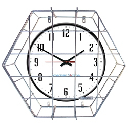 """Wall Clock with Battery Booster - 24"""", 92211"""