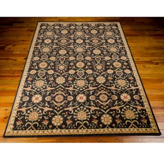 "kathy ireland by Nourison Traditional Floral Area Rug 5'3""W x 7'5""D, 82236"
