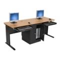 "Dual Computer Workstation - 72""W, 13450"