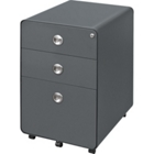 "23""D Three Drawer Mobile File, 34940"
