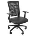 Soft Plastic Mid Back Chair, 50993