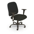 Big and Tall Fabric Task Chair with Arms , 56564