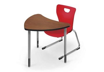 """Small Chevron Shaped Desk - 24.5""""D x 30.7""""W, 46392"""