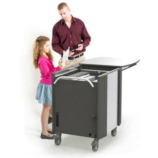 Tablet Syncing and Charging Cart, 60978