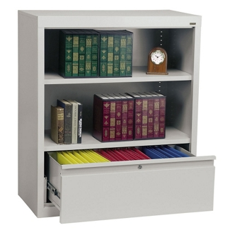 File Bookcase with Two Shelves, 32606