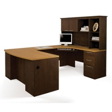 "Reversible U-Shaped Workstation - 66.8""W x 94.5""D, 10021"