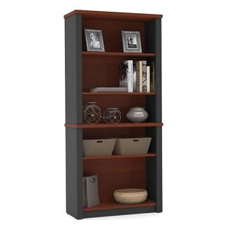 """Five Shelf Bookcase - 66.8""""H, 10099"""