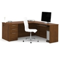 "71""W Executive L-Desk, 10108"