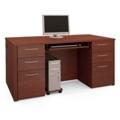 """Double Pedestal Computer Desk - 66""""W, 13415"""