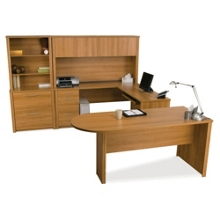 Peninsula Desk Office Suite, 13417