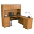 L-Desk with Hutch, 13418