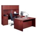 U-Desk with Hutch, 13421