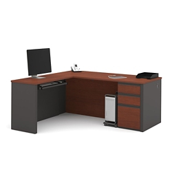 Reversible Contemporary L-Desk, 15119