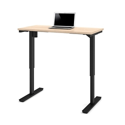"""Laminate Adjustable Height Table -  48""""W x 24""""D, 41884"""