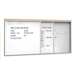12'W Sliding Marker Board, 80483