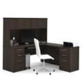 Executive L-Desk with Hutch, 10109