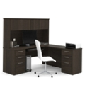 Executive L-Desk with Hutch, 10109